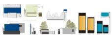 VI设计模板环境类图片