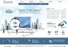 电脑网页模板图片
