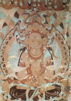 佛教壁画图片