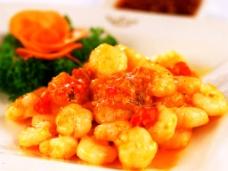 咖喱虾仁图片