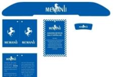 MEMANLI商标吊卡设计图片