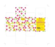 PVC透明粉扑盒子图片