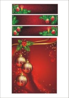 圣诞节背景矢量