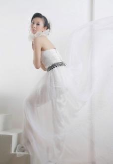 白色婚纱图片