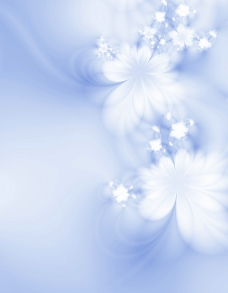蓝色梦幻底纹图片