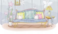 时尚沙发图片