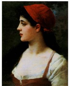 吉普赛女郎图片