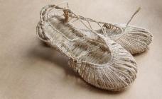 手工草鞋图片