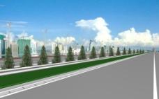 高速公路效果图图片