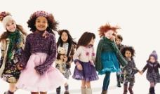 多彩时装儿童图片
