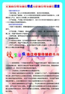 艾滋病母婴传播宣传知识展板图片