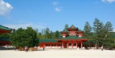 日本京都平安神宫图片