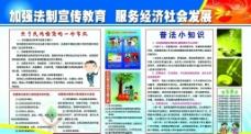 社区法制宣传展板图片