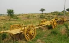 科尔沁草原勒勒车图片
