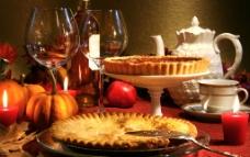 圣诞餐桌美味图片