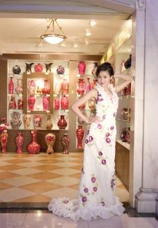旅游婚纱摄影样片 美丽新娘图片