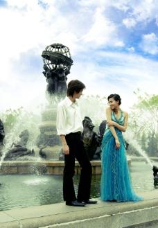 旅游婚纱摄影样片 婚纱情侣图片