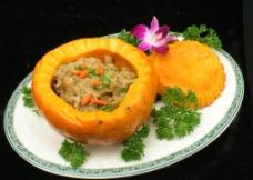 金瓜糯米肉图片
