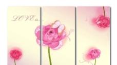 玫瑰移门贴图片