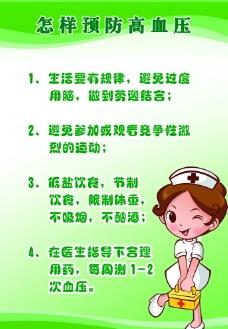 预防高血压展板图片