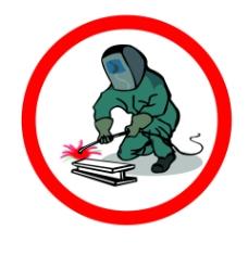 电焊作业注意保护图片