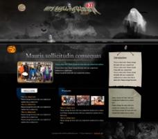 万圣节网站 复活夜图片