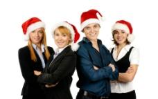 圣诞商务人物图片