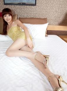 美女腿模vicni写真