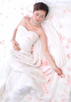 婚纱摄影样片 美丽新娘图片