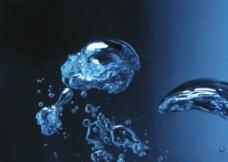 动感水泡水珠图片