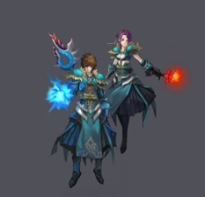 QQ仙侠传游戏角色图片