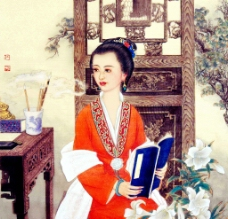 金陵十二钗 李纨图片
