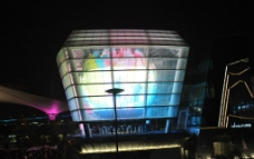 世博园台湾馆夜景图片