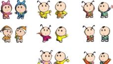 好客山东 2011年最新吉祥物形象图片