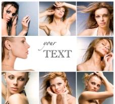 欧美美女模特人物摄影写真图片