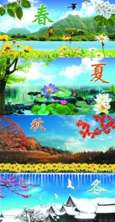 风景油画 红树林图片