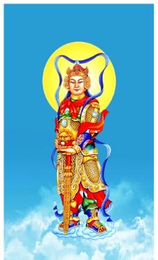 韦驮菩萨图片