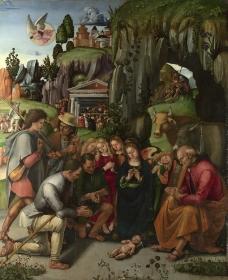 卢卡 牧羊人的崇拜图片