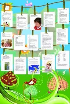 幼儿园健康宣传展板图片