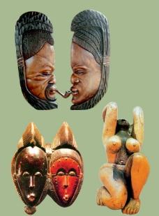 非洲木雕图片