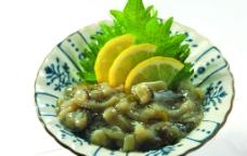 日本料理 生鱿鱼图片