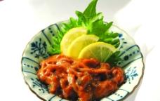 日本料理 鱿鱼图片