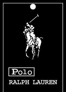 Polo服装吊牌图片