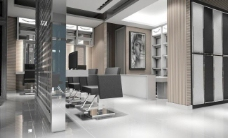 发廊现代设计图片