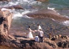 海边一景图片
