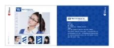 眼镜公司画册图片