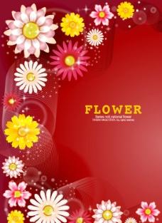 动感线条 时尚花纹 花朵图片