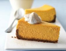 南瓜芝士蛋糕图片