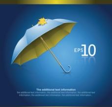 雨伞背景图片
