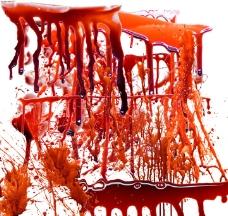 各种血滴高清图片